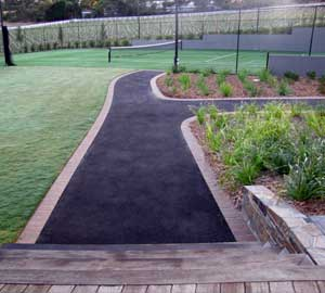 asphalt paving tennis courts
